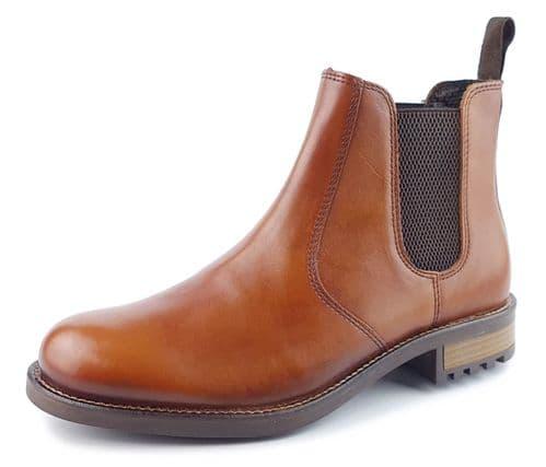 Frank James Loddington Leather Chelsea Boot Tan